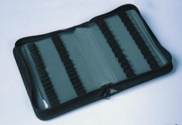 Ampoule Case - Black Leather