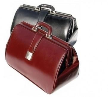 K-Med Leather Doctor's Bag - Black