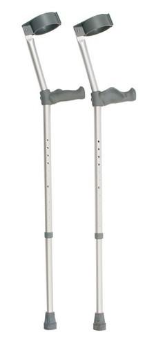 Double Adjustable Elbow Crutch 121A - Per Pair