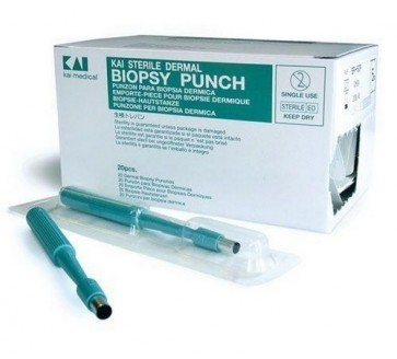 Biopsy Punch 3.5mm Sterile Disposable x 20
