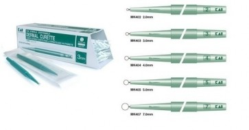 Curette 3.0mm Sterile Disposable x 20