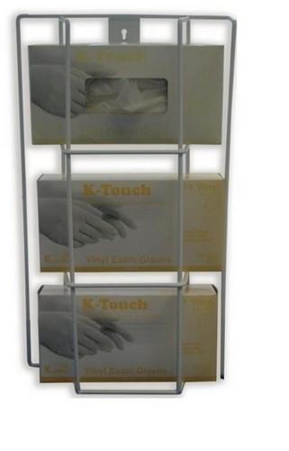 Triple Glv Dispenser-Wire w/m h49xw27xd10.5cm