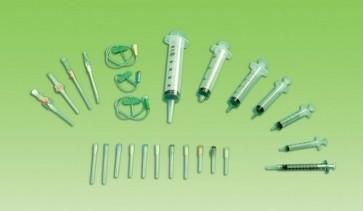 Syringes 100ML Catheter Tip Luer/Slip Adaptor x 25