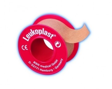 Leukoplast Sleek Waterproof Tape 5cm x 5m x12