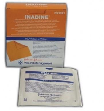 Inadine - Povidone Iodine Dressing 9.5 x 9.5 cm  (x 10)