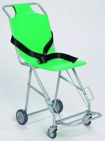 Transit Chair with 4 Wheels (2 braked ) & Footrest