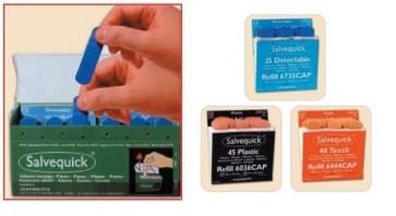 Salvequick Plaster Dispenser - Blue