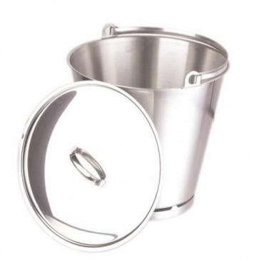 Bucket S/Steel 10 Litre