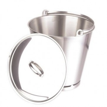 Bucket S/Steel 15 Litre