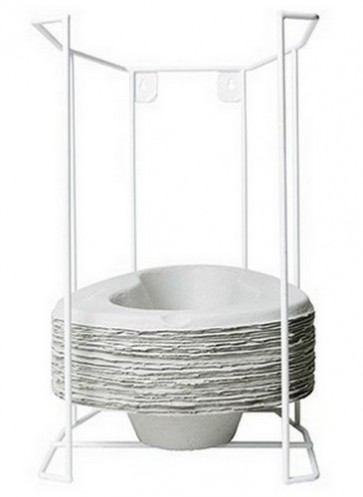 Dispenser for General Purpose Bowls -Wire Plastic Coated