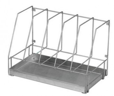 Drainage Rack for Bed Pans - Stainless Steel