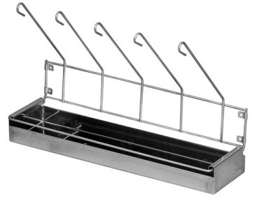 Urinal Drainage Rack - Stainless Steel