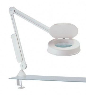 LFM Illuminated Medical Magnifier with Desk Clamp