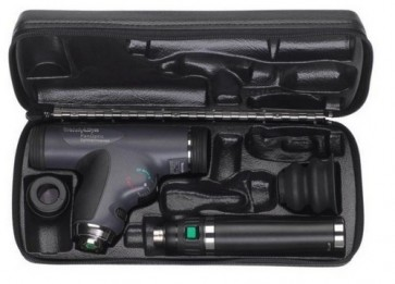 WA 3.5v PanOptic Ophthalmoscope Set (w/ Cobalt Blue Filter, Rechargeable Lithium Ion Handle and Hard Case)