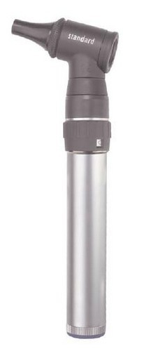 Keeler 3.6v Standard Otoscope - w/ Rechargeable Handle (1518-P-1002)