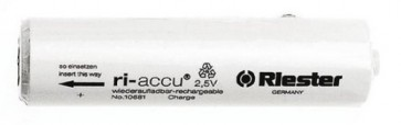 Riester Ri-Accu Batteries AA 2.5v 019mm