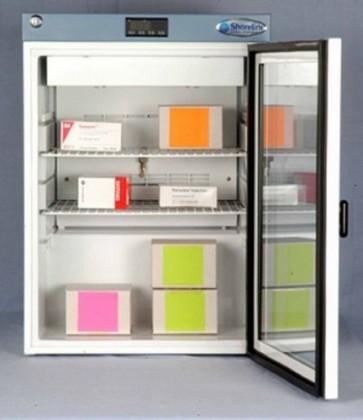 60 Litre Pharmacy Fridge with Glass Door 640h450wx430d