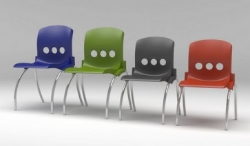 Polypro Chair 11 - 14 Years - Single (Specify Colour)