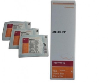 Melolin Dressings Sterile 10cm x 10cm (100)