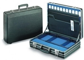 MED 17 GP Superior Case in Silver (w/ Space for Laptop)