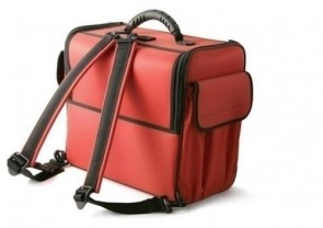 Bollmann Alternative Case, Red Polymousse w/out Straps
