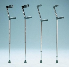 Double Adjustable Elbow Crutch Extra Long 121A - Per Pair