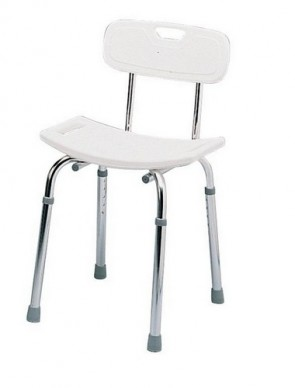 Delux Shower Stool  - Height Adjustable 537B