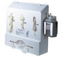 Danicentre - Glove + Apron + Soap Dispenser