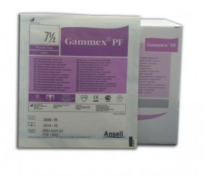 Gammex Powder Free Sterile Latex Gloves Size 7.5 (x 40)