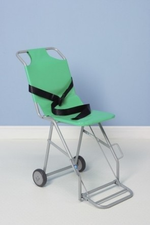 Transit Chair with 2 Rear Wheels & Footrest