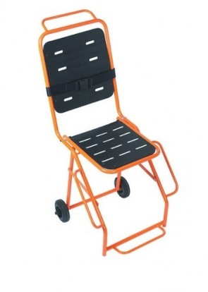 Evacuator Chair -2 Rear Wheels &Foot Rest