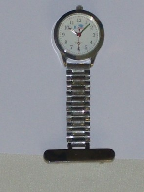Nurse's Fob Watch - S/Steel