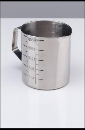 Measuring Jug S/Steel - Graduated 500ml