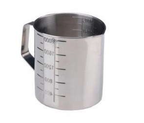 Measuring Jug S/Steel - Graduated 1000ml