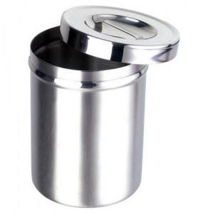 Dressing Container S/Steel 127 x 165mm
