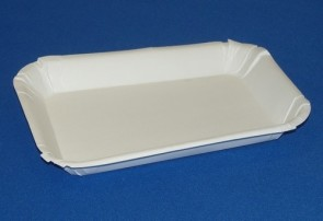 White Card Trays 152 x 100 x 20mm (x125)