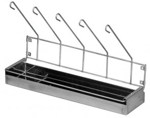 Urinal Drainage Rack - Nylon Coated