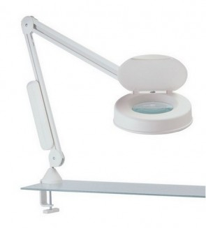 LFM Illuminated Medical Magnifier with Wall Bracket