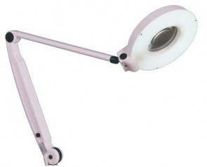 Optica 288 Illuminated  Magnifying Lamp - wall mounted
