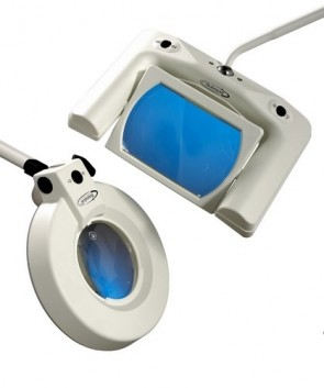 Optica 388 Illuminated  Magnifying Lamp - mobile