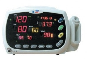 K-Med Vital Signs Monitor - NIBP/SpO2/Temp/Printer
