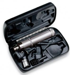 WA 3.5v Professional Otoscope Set (w/ C-Cell Handle and Hard Case)