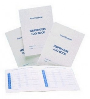 Temperature Logbook A5