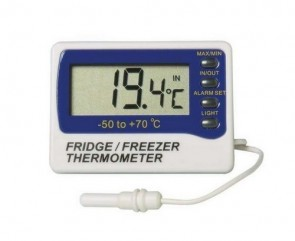 Min/Max Thermometer with Alarm