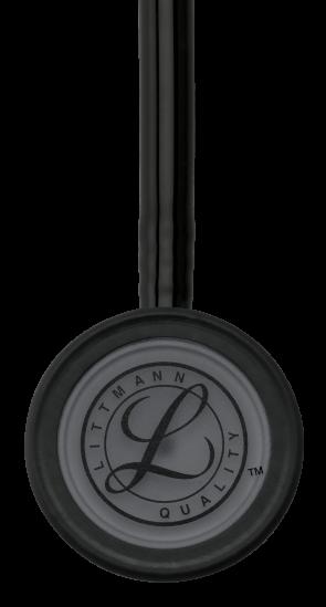 3M Littmann Classic III Stethoscope, BLACK EDITION 1 (Black Chestpiece, Black Tube), 5803