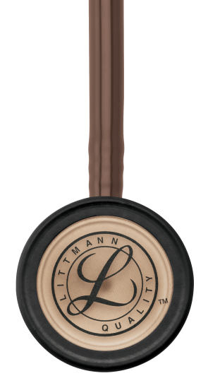 3M Littmann Classic III Stethoscope, COPPER EDITION (Copper-Finish Chestpiece, Chocolate Brown Tube), 5809