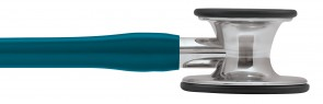 3M Littmann Cardiology IV Stethoscope, MIRROR EDITION 1 (Mirror-Finish Chestpiece, Caribbean Blue Tube), 6169