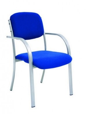 Flex Metal Stacking Chair - w/ Arms (Specify Colour)