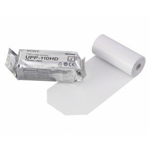 Sony UPP-110HD - A6 Black and White Print Media (Box of 10 Rolls)