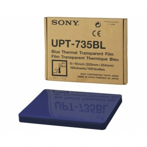 Sony UPT-735BL - Blue Thermal Transparent Film - 100 Sheets